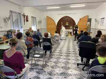 El Peñón celebra un sencillo acto de homenaje al Patrón de la barriada, San José Obrero - Revista Lugar Encuentro
