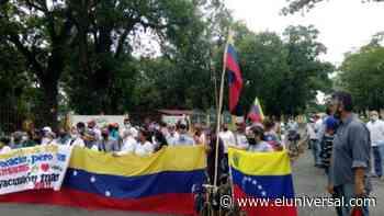 Trabajadores en Barinas protestaron por un mejor salario - El Universal (Venezuela)