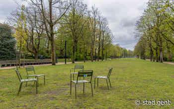 128 extra losse stoelen voor Gentse parken - Gent