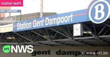 """Station Gent-Dampoort heeft nu een lift: """"Meer comfort voor treinreizigers terwijl roltrap hersteld wordt"""" - VRT NWS"""