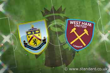 Burnley vs West Ham LIVE! Latest team news, lineups, prediction, TV and Premier League match stream today