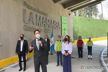 Habilitan paso a desnivel La Marimba en Bulevar Vista Hermosa, Zona 15 - republica.gt