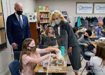 Biden pushes education spending at stops in Virginia