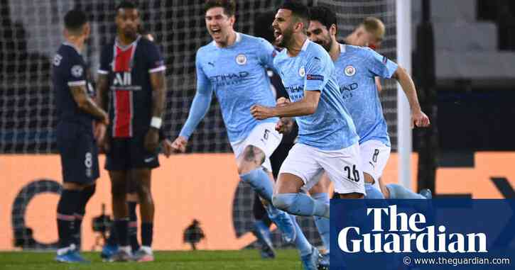 Manchester City 'to suffer' against PSG chasing Champions League history