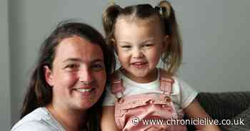 Girl, 4, battles rare metabolic condition that could cause brain damage