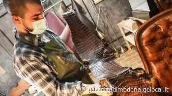 Sassuolo. Calzoleria Carlino: cento ore di lavoro a mano per una scarpa storica - La Gazzetta di Modena
