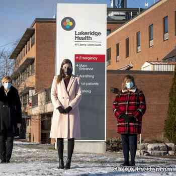 Durham Region providing $37.5M toward expansion of Lakeridge Health Bowmanville Hospital - Toronto Star