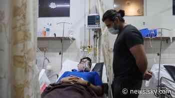 COVID-19: Doctors scramble for oxygen supplies as India's coronavirus crisis worsens - Sky News