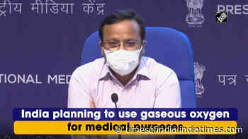 India planning to use gaseous oxygen for medical purposes