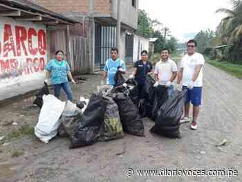 Todo un éxito fue recojo de criaderos de zancudos en Huicungo - diariovoces.com.pe