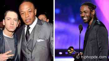 Dr. Dre, Eminem & Kendrick Lamar Collab Rumors Explode On Twitter - HipHopDX