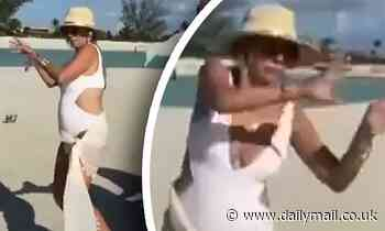Ramona Singer becomes a viral hit with her bizarre 'turtle-like' dance in TikTok video with costars