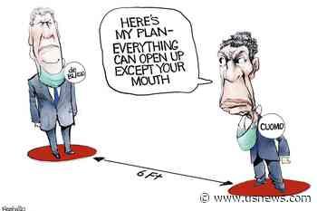 Coronavirus Vaccines, President Joe Biden and Taxes: The Week in Cartoons for May 3-7 - U.S. News & World Report