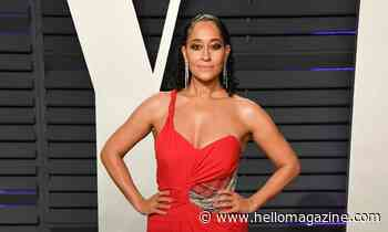 Tracee Ellis Ross goes total bombshell in a sizzling strappy bikini
