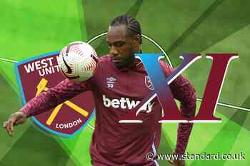 West Ham XI vs Burnley: Antonio returns - starting lineup, confirmed team news, injury latest today
