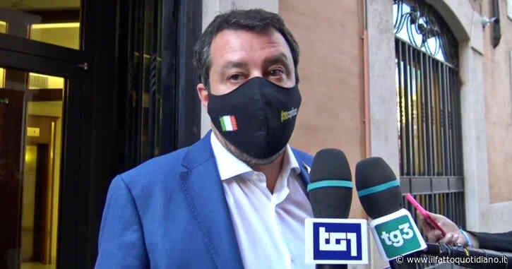 """Salvini: """"Chiederemo di riaprire le attività al chiuso e all'aperto in Cdm se i numeri continueranno a essere incoraggianti"""""""