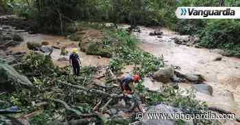 Fotos: Bomberos evitaron represamiento en el río de Oro en Piedecuesta - Vanguardia