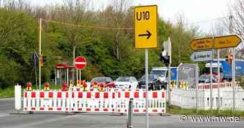 Bauarbeiten: B239 in Kirchlengern ist jetzt eine Einbahnstraße - Neue Westfälische