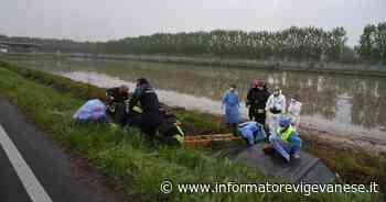 Vigevano: auto fuori strada in corso Pavia, soccorso 90enne - Informatore Vigevanese