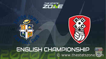 2020-21 Championship – Luton vs Rotherham Preview & Prediction - The Stats Zone