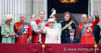 All the rules on who stands where with Queen on Buckingham Palace balcony and why - Mirror Online