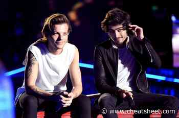 Louis Tomlinson on Zayn Malik Not Touring His Music After One Direction - Showbiz Cheat Sheet