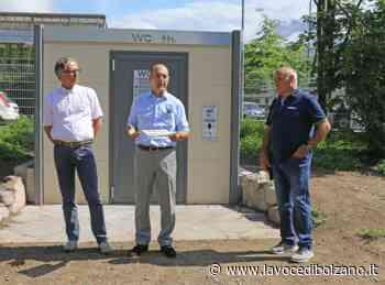 Prossimo Merano, WC high-tech al parco Marlengo: il bagno pubblico che si pulisce da solo - La Voce di Bolzano