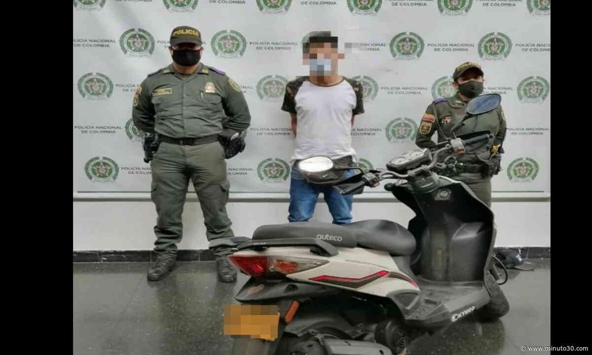 Por andar en una moto robada lo capturó la Policía en Guayabal - Minuto30.com