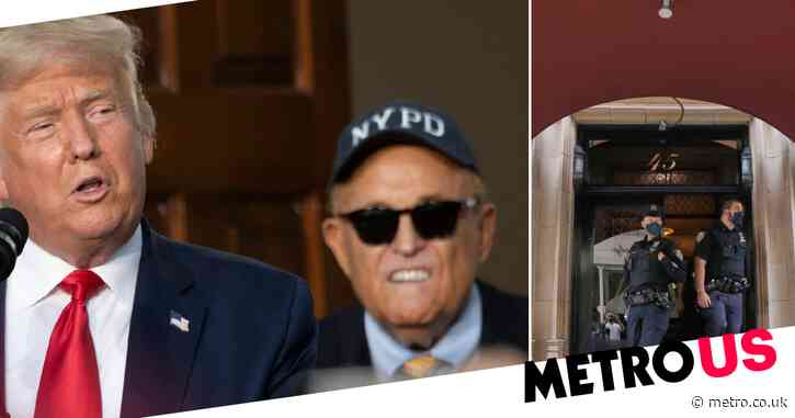 Rudy Giuliani says 'only lawyers for Donald Trump' get raided after 'out of control' FBI search