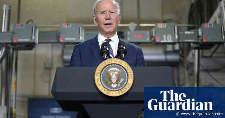 Joe Biden: time for corporations and richest Americans to 'start paying their fair share' – video