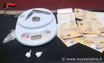 Arrestato ad Atripalda per spaccio di cocaina. Segnalato un acquirente - Nuova Irpinia - Nuova Irpinia