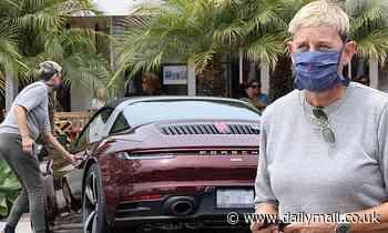 Ellen DeGeneres treats herself to a $181,950 Porsche... after ex-girlfriend Anne Heche slammed her