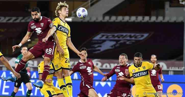 Il Parma retrocede in Serie B: fatale il k.o. per 1-0 a Torino, che ora vede la salvezza