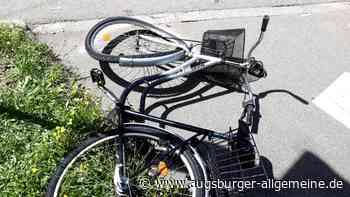 Radfahrer krachen beim Überholen ineinander und stürzen - Augsburger Allgemeine