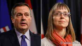 Alberta premier and chief medical officer to provide pandemic update