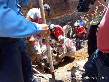 Muere uno de los hombres rescatado tras quedar soterrado en Sabanagrande - ElHeraldo.hn