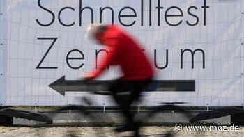 Corona in Oder-Spree: In Bad Saarow und Wendisch Rietz werden Stationen für einen Corona-Schnelltest eröffnet - moz.de