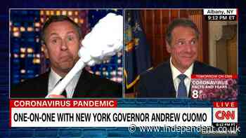 Fox News running ads about Andrew Cuomo scandal allegations during CNN show of brother Chris Cuomo