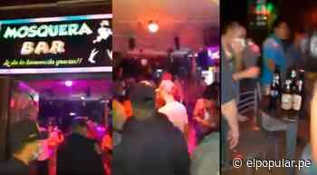 Pucallpa: intervienen alrededor de 100 personas en un bar [VIDEO] - ElPopular.pe