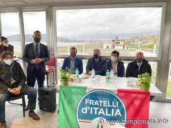 """Minturno / """"Fenomeno Meloni"""", la presentazione con Calandrini, Procaccini e direttivo locale di Fratelli d'Italia - Temporeale Quotidiano"""