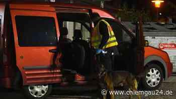 Raubling: Polizei stellt Drogen bei Kontrolle auf A8-Parkplatz Eulenauer Filz sicher - chiemgau24.de