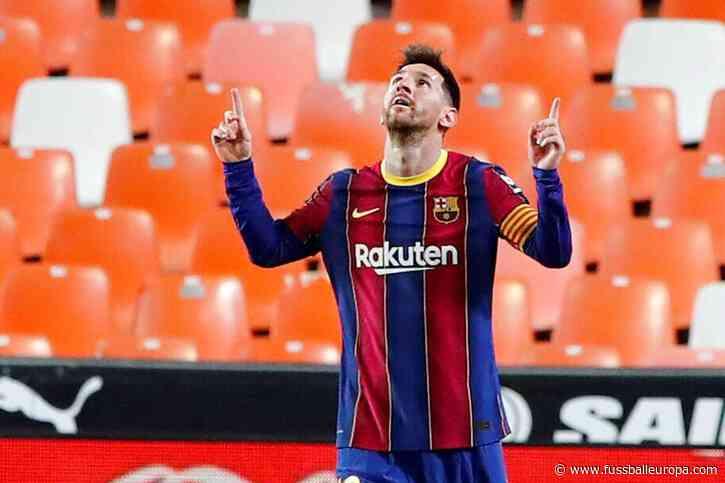 Lionel Messi scheitert – dann zeigt er seine ganze Klasse und zieht an CR7 vorbei - Fussball Europa