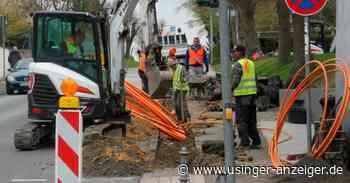 Usingen: Arbeiten für Netzausbau haben begonnen - Usinger Anzeiger