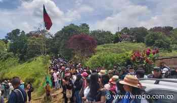 Confirman la muerte de un campesino en medio de los choques en Caldono, Cauca - W Radio