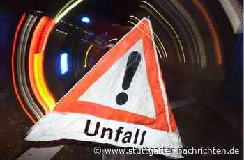 Landstraße bei Remseck - Zwei Männer bei Unfall schwer verletzt - Stuttgarter Nachrichten
