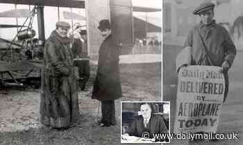 Read the thrilling account of how two brothers helped the Daily Mail take flight