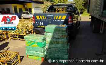Polícia Rodoviária prende traficante com meia tonelada de maconha em Cruz Alta - Jornal Expresso Ilustrado