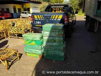 PRF prende traficante com quase meia tonelada de maconha, em Cruz Alta, escondida no meio de móveis - Portal de Camaquã