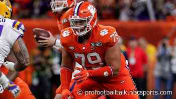 Bengals will play second-rounder Jackson Carman at guard - NBC Sports