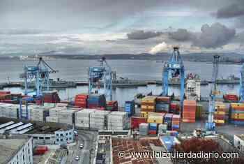 Trabajadores portuarios de Valparaiso realizan paro y conquistan medidas sanitarias - La Izquierda Diario